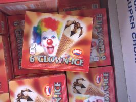 Creepy Clown Ice by SnatchMind