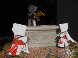 Assassin's Creed Origami N.2a by NocturnaDraco