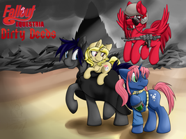 Fallout Equestria: Dirty Deeds Cover (Commission) by TheImmolatedPoet