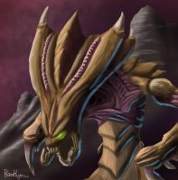 The Hydralisk's Hiss by Rost-kogmain