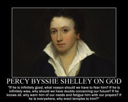 Percy Bysshe Shelley on God by fiskefyren