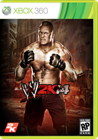 WWE 2K14 Costume Cover Ft. Brock Lesnar by xXMAGICxXxPOWERXx