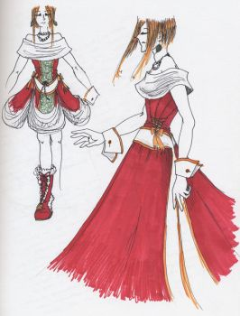 Christmas Dress Revisited by eccentricone