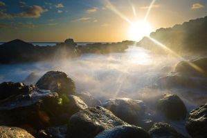 Sunstars and Ocean Spray by little-spacey