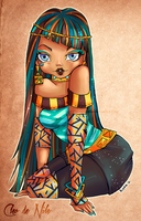 Monster High- Cleo de Nile by ShiChel