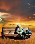 The Bench by Cyrille-Dethan