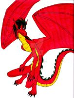 American Dragon by InkArtWriter
