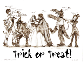Trick or Treat by frogit