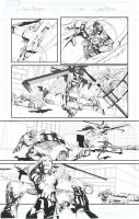 Secret Avengers sample page 20 by jakebilbao