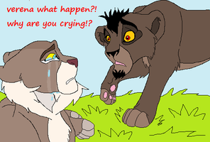 nuka and verena as cubs by wolvesanddogs23