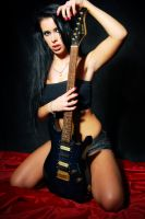 guitar girl - Jagoda .7. by radoslawstuba