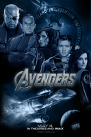 Avengers - SHIELD Poster by Marvel-Freshman