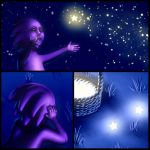 Juggling Stars Dets by Cacodaemonia