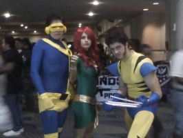 Megacon '11- X-Men by Fruits-Punch-Samurai