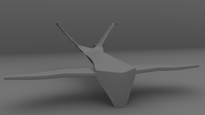 HK-Drone WiP - Body 01 by WilliamTownsend