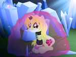 Chained in cave by RainbowDashie