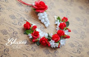 Classic red roses by BlossomHandmade