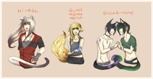 Catboy Adopts by strxbe