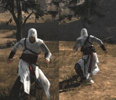 Altair Silly Walk by jying072