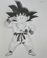 Child Goku by SourpatchDevil