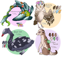 Unique Adopts [CLOSED] by Solsongs