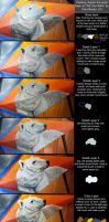 Painting Aquila the Polar Bear Tutorial by ART-fromthe-HEART