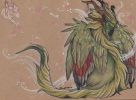 Treedew in blossom by Idlewings