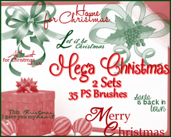 PS Mega Christmas Pack by Illyera