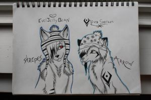 Hat Day -Collab- by EvilJellybean