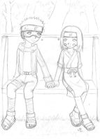 Obito and Rin - unfinished by malvien