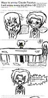 Black Butler: 20 Ways to Annoy Claude Faustus by AskAloisandClaude