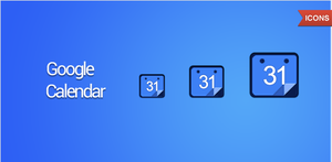 Google Calendar icon by Draganja