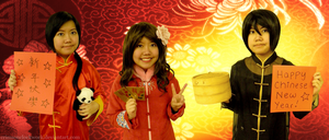 Happy Chinese New Year 2013 by BowtieZombie