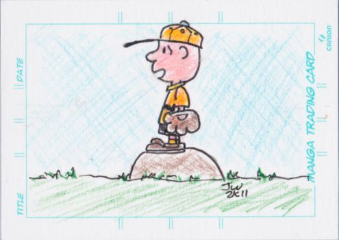 Charlie Brown on the Field by MadisonHRW