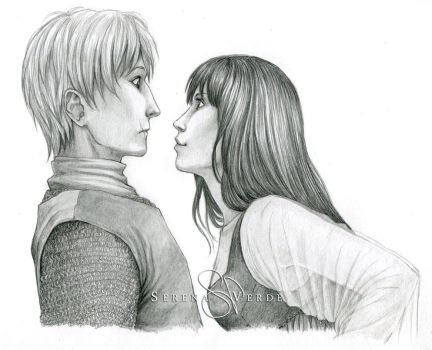 Commission: Kol and Skuld by SerenaVerdeArt