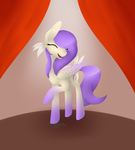 MLP OC - Purple Feather *redraw* by Keisaa