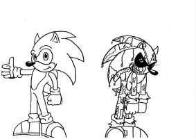 The mystery of Dr.Sonic and Mr.EXE by filibolt