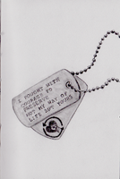 Rise Against Dogtags by FootballHockeyPilot