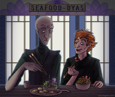 The Tragedy of Darth Plagueis's Lunch by Teq-Uila