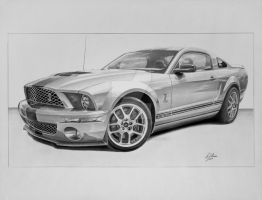 Shelby GT 500 by industrialrevelation