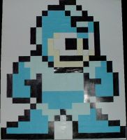 Post-It Rockman by 8-bit-Artist