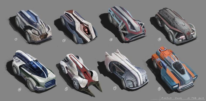 Concept Cars by minifong