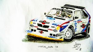 Lancia Delta S4 Group B by jason151816