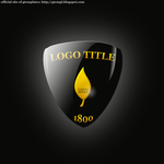 Black and Gold Logo Template by wildsway18