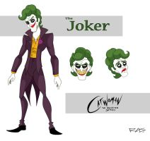Catwoman: The Animated Series The Joker by rickytherockstar