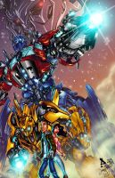 Transformers by AshDayArt