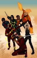 Arrowverse League Commision by IronAvenger1234