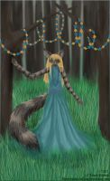 Princess of the forest by LunozvezdnaiaCoon