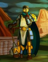 Paladin by Lordlogart00