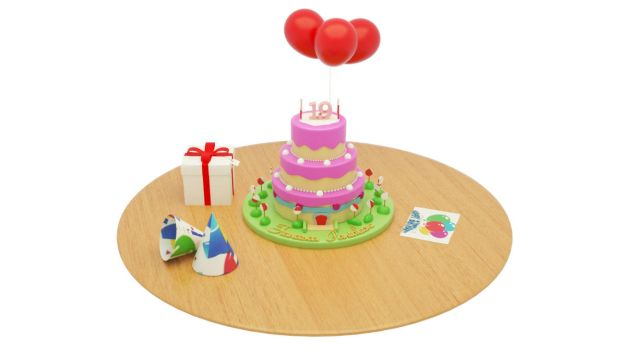 3D Cake by MichelSay
